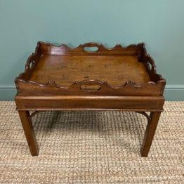 Georgian Mahogany Antique Coffee Table