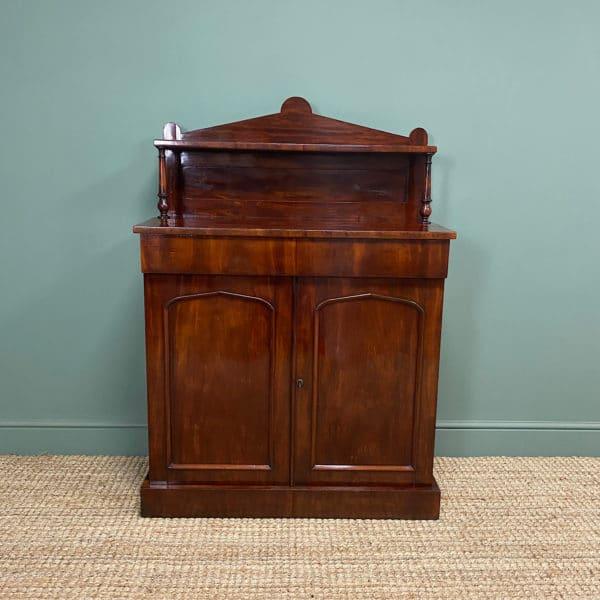 Superb Quality Victorian Antique Mahogany Chiffonier / Sideboard