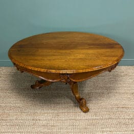 Outstanding Victorian Rosewood Antique Dining Table