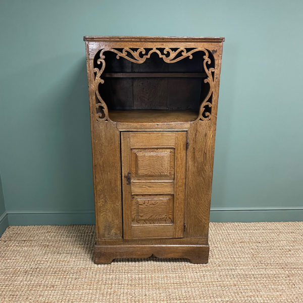 17th Century Oak Country House Antique Cupboard