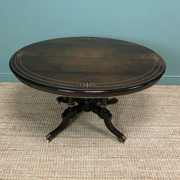 Stunning Victorian Oval Antique Dining Table