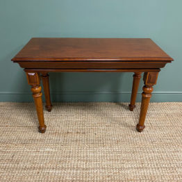 Spectacular Victorian Mahogany Antique Console Table